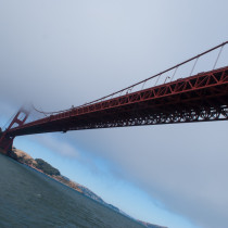 Golden Gate Bridge Underneath