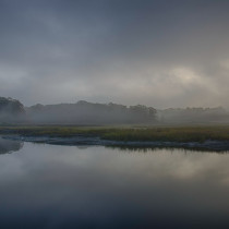 Pelham Bay Marshes Foggy HDR 2