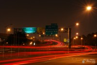 Cross Bonx Expressway Light Trails